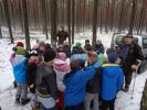 Czwartoklasiści pomagają leśnym zwierzakom